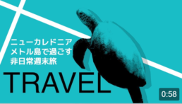 Yahoo! JAPAN クリエイターズプログラム 『ニューカレドニア メトル島で過ごす非日常週末旅』
